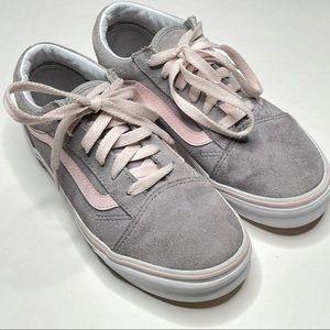 Vans Old Skool Skate Shoes Suede Low Top Lace Up